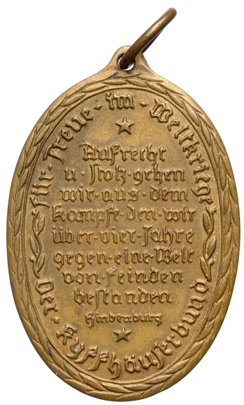 III Rzesza, Blank die Wehr Rein die Ehr 1914-1918