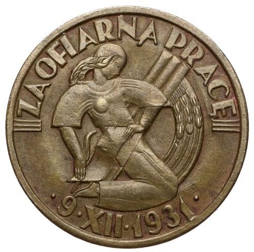 Odznaka za II Powszechny Spis Ludności 9.XII.1931