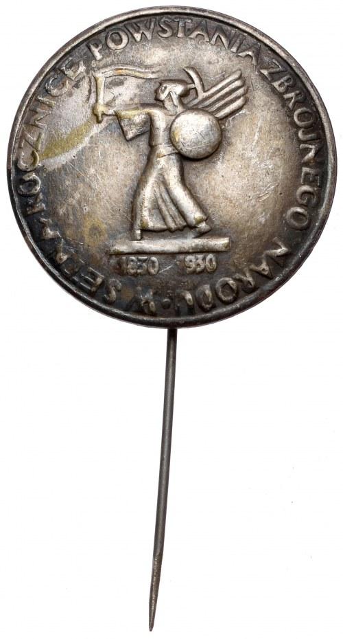 W setną rocznicę powstania zbrojnego narodu 1830-1930