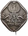 Znaczek na szpilce, 3 MAJA 1791-1917