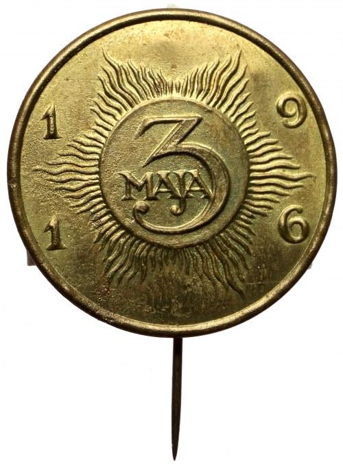 Znaczek na szpilce, 3 Maja 1916