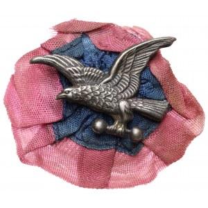 Odznaka Towarzystwa Gimnastycznego SOKÓŁ - na wstędze lwowskiej