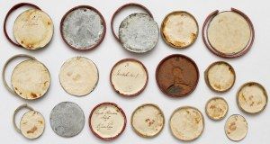Kolekcja galwanotypów rzadkich medali czasów Rosji Carskiej (18szt)