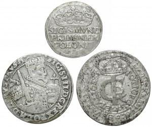 Tymf, Ort i Grosz 1527-1666 (3szt)