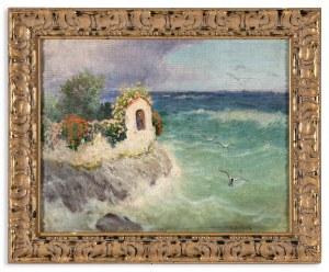 Bratkowski Roman (1869-1954), Kapliczka przy brzegu morza, lata 20. XX w.