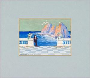 Rychter-Janowska Bronisława (1868-1953), Pejzaż z Capri, [1904]