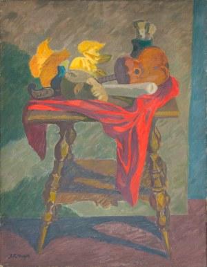 Kraupe-Świderska Janina (1921-2016), Martwa natura, 1949