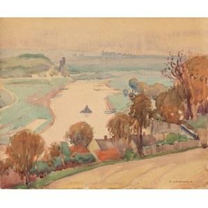 Uziembło Henryk (1879-1949), Widok z Tyńca