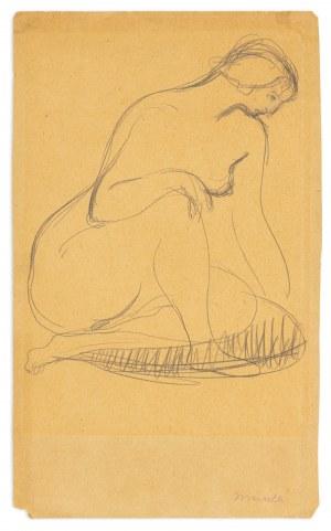 Menkes Zygmunt (1896-1986), Akt, lata 30. XX w.