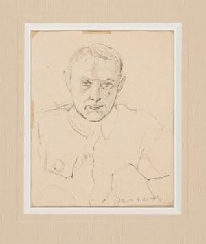 Chwistek Leon (1884-1944), Autoportret w mundurze, 1918