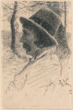Kochanowski Roman (1857-1945), Portret chłopa podkrakowskiego