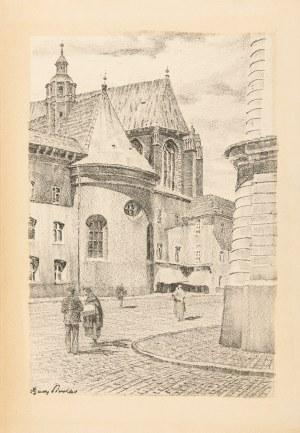 Pinkas Ignacy (1888-1935), Widok z Małego Rynku w Krakowie, 1935