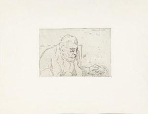 Rzegociński Witold (1883-1969), Szkic portretowy pana E.C., ok. 1909