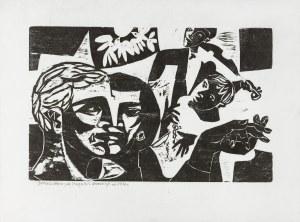 Stern Jonasz (1904-1988), Według Chagalla, ok. 1936