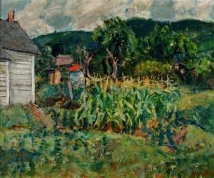 Zygmunt Józef (Sigmund, Sigmond) Menkes (1896 Lwów - 1986 Riverdale), W ogrodzie