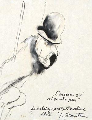 Tadeusz Kantor (1915 Wielopole Skrzyńskie - 1990 Kraków), Ptak, który nie istnieje, 1982