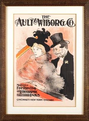 Henri De Toulouse-Lautrec (1864 Albi - 1901 Saint-André-Du-Bois), Plakat reklamowy firmy The Ault & Wiborg Co.