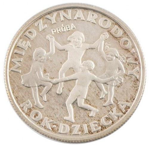 20 zł, Międzynarodowy Rok Dziecka, próba, 1979