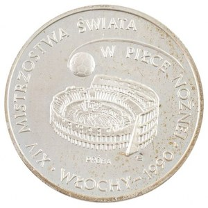 1000 zł, XIV Mistrzostwa Świata w Piłce Nożnej Włochy 1990, próba 1988