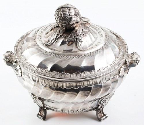 TERYNA ZDOBIONA KARCZOCHEM, Francja, Paryż, Charles Delaire, 1882 - 1898