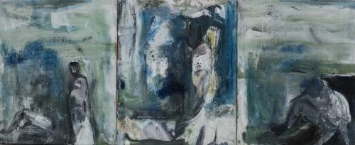 Małgorzata Majerczyk-Sieczka (1972), Samotność (tryptyk) (2014-15)