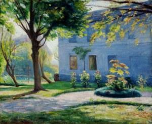 Roman Kramsztyk (1885-1942), Przed domem, ok. 1913