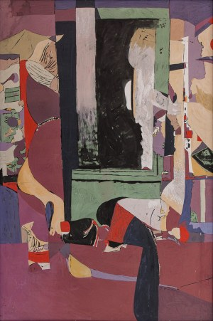 Bernard BRAUN (ur. 1935), Okno III
