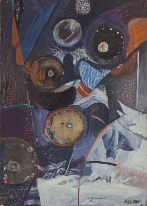 Bernard BRAUN (ur. 1935), Pejzaż, 1963