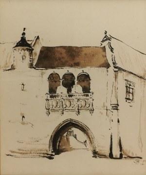 Stanisław NOAKOWSKI (1867-1928), Brama wjazdowa (fantazyjna), 1916