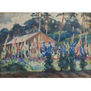 Teodor GROTT (1884-1972), Malwy przed chatą