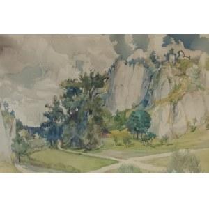 Franciszek TUREK (1882-1947), Dolinka Krakowska, 1920