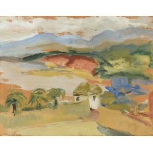 Emmanuel KATZ - MANE KATZ (1894-1962), Pejzaż z Palestyny, 1934