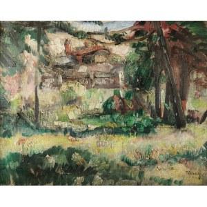 Tadeusz CYBULSKI (1878-1954), Dom wśród drzew