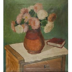 ANDRZEJ WRÓBLEWSKI (1927-1957), Kwiaty w wazonie, 1948