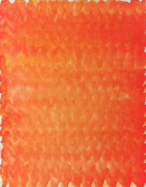 Stefan GIEROWSKI (ur. 1925), Kompozycja pomarańczowa, 1990