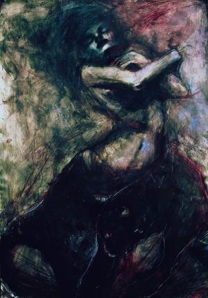 Katarzyna Tchórz, Uścisnąć ciemność | Embrace the darkness | 2012