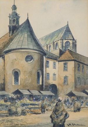 Chmieliński (Stachowicz) Władysław, TARG NA MAŁYM RYNKU W KRAKOWIE, LATA 1936-1939