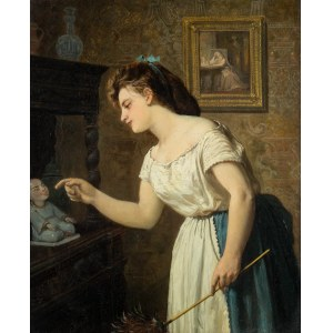 Franciszek Streitt (1839 Brody – 1890 Monachium), Wiosenne porządki, 1870 r.