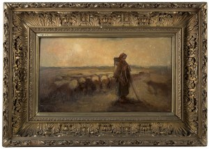 Artur Grottger (1837 Ottyniowice – 1867 Amélie-les- Bains), Pasterka, 1867 r.