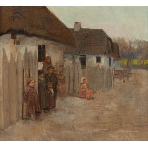 Władysław Podkowiński (1866 Warszawa - 1895 tamże), Wieś II, 1890-1891 r