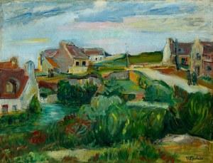 Henryk Epstein (1891 Łódź - 1944 Auschwitz), Wioska bretońska nad morzem