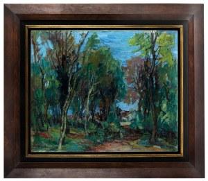 Henryk Epstein (1891 Łódź - 1944 Auschwitz), Wieś w pobliżu lasu
