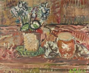 Jan Cybis (1897 Wróblin - 1972 Warszawa), Martwa natura, 1968 r.