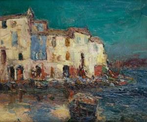 Włodzimierz Terlikowski (1873 wieś pod Warszawą - 1951 Paryż), Les Martigues, ok. 1920 r.