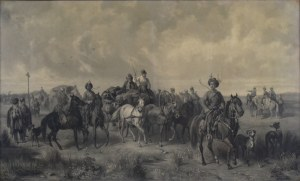 Józef Brandt (1841-1915), Pochód Lisowczyków