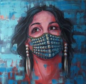 Marzena Hettich-Uryszek, Lady in the mask, 2020