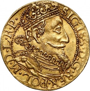 Zygmunt III Waza, dukat 1610, Gdańsk