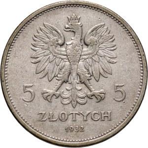 II RP, 5 złotych 1932, Warszawa, Nike