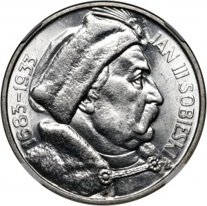 II RP, 10 złotych 1933, Warszawa, Jan III Sobieski