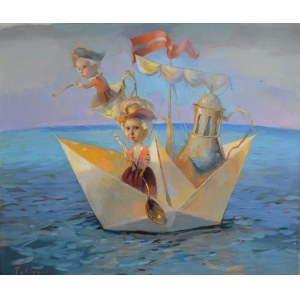 Olga Pelipas, Tea journey, 2020